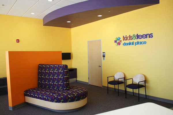 Waiting Area at Kids & Teens Dental Place in Pearland, TX
