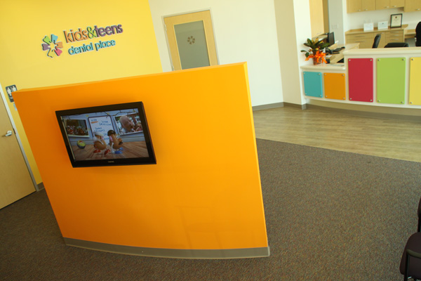 Waiting Area at Kids & Teens Dental Place